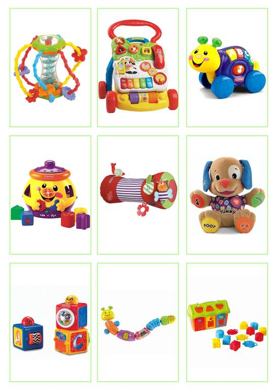 Лучшие игрушки для 9 месячного ребенка