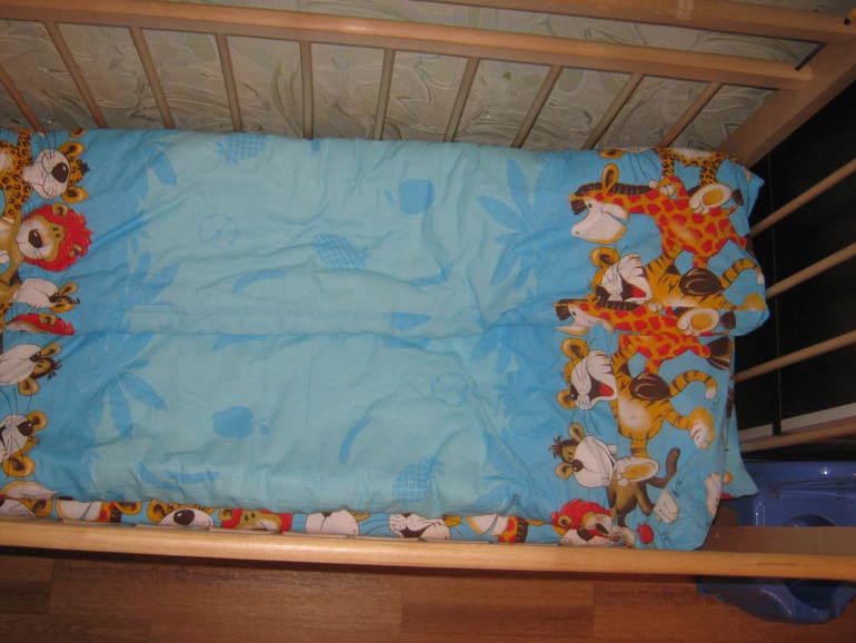 Новое постельное для дочурки