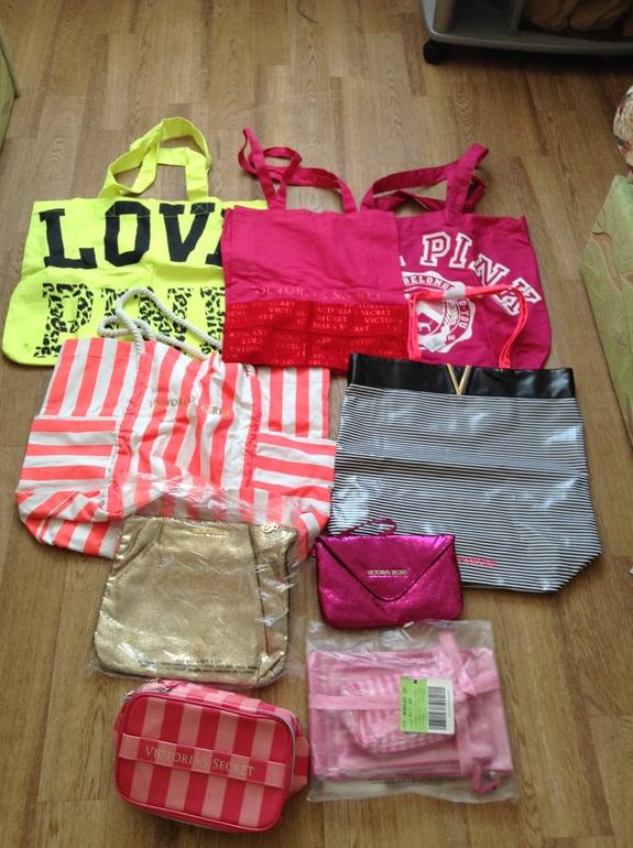 Пляжные сумки по 300 и 500 р