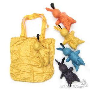 Экобэг (сумка для покупок) кролик. м Коломенская