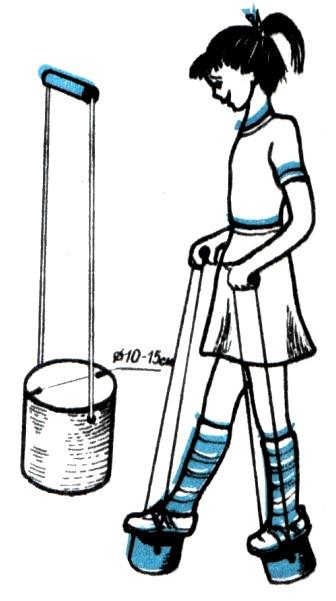 Сделать строительные ходули своими руками 67