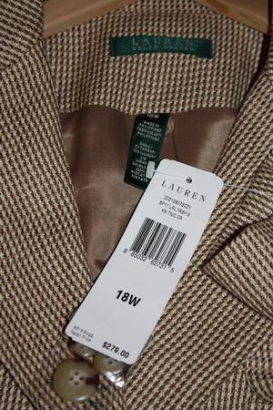 Пиджак бежевый Ralph Lauren