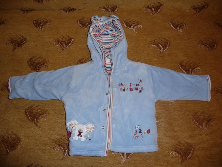 Новая курточка для мальчика Bagigi Baby 74 разм. - 350руб.