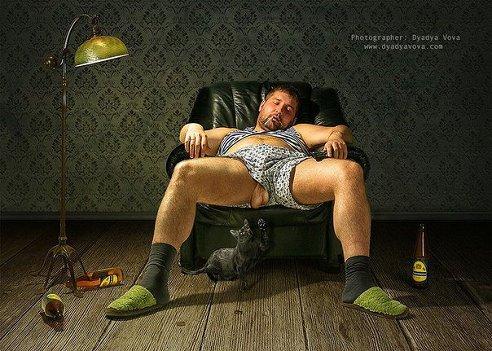 Вот она мужская сущность в одной картинке)))