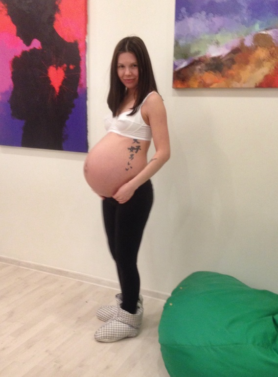 Беременные на шестом месяце 47