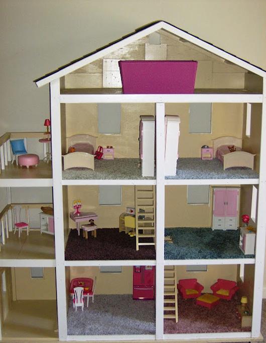 Домик для кукол своими руками в домашних условиях