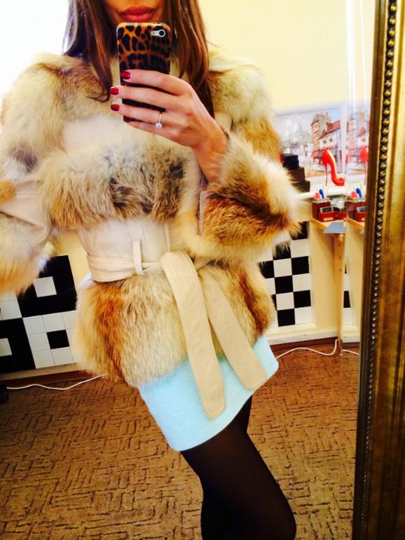Куртка С Мехом Рыжей Лисы Купить