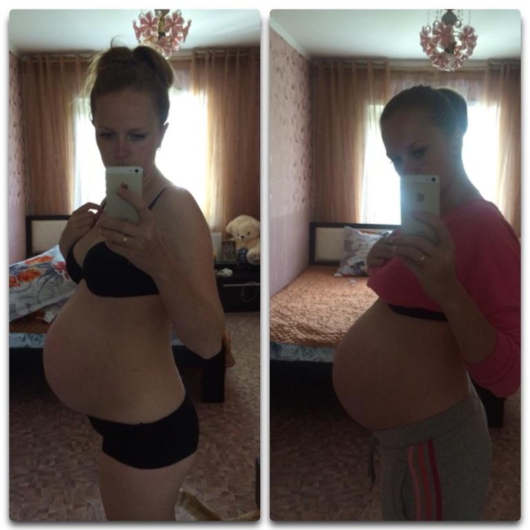 Спину тянет на 36 неделе беременности