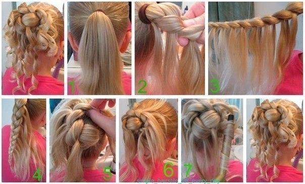 Причёски не сложные но красивые на короткие волосы