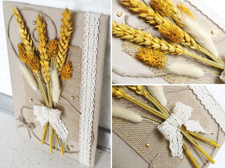Поделки из пшеницы