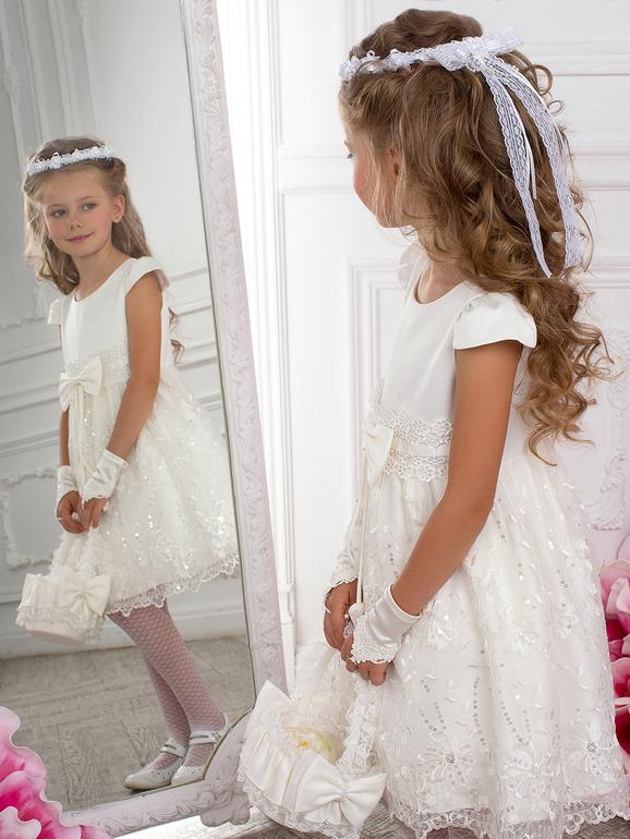 Платье белое своими руками