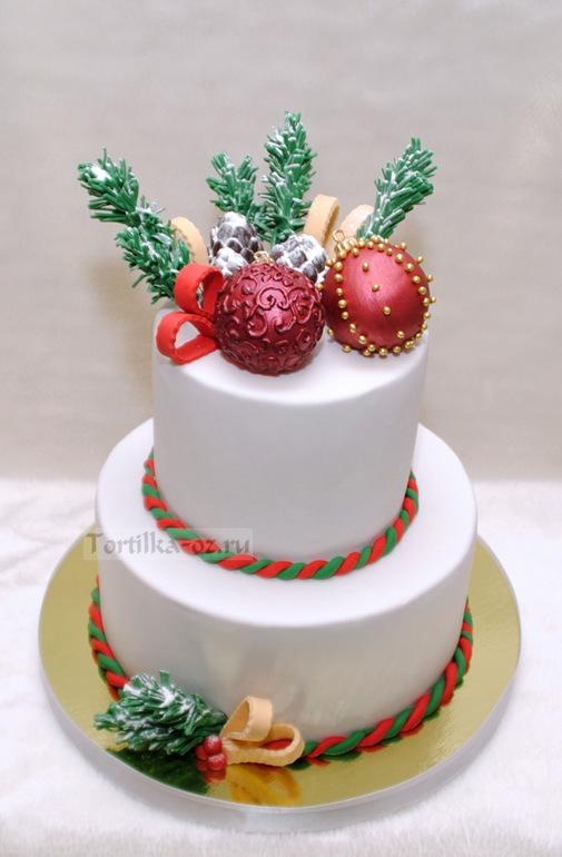 Новогодний торт 2014 фото