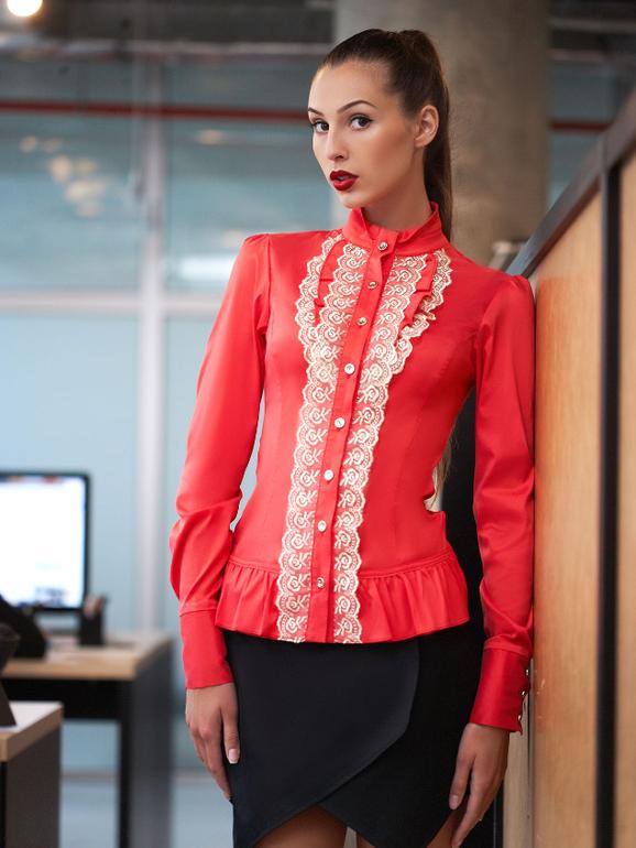 заказать блузку через интернет недорого