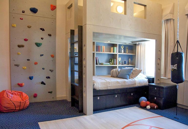 Дизайн детской комнаты мальчика фото