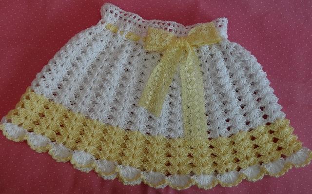детская юбка крючком схемы
