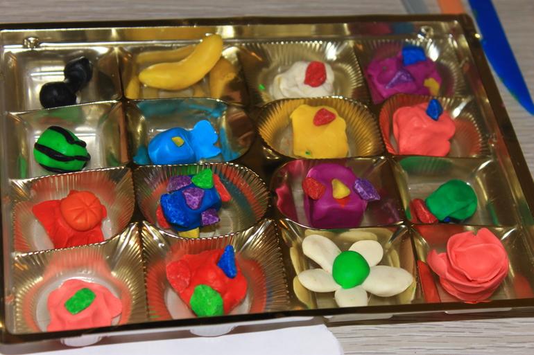 Сделать из коробки от конфет своими руками 424