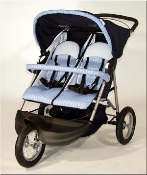 Девочки! А были у кого-нибудь трехколесные коляски для двойни, как, например, ABC Design 3w twin air?