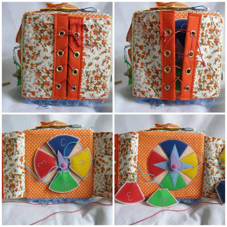 Развивающие кубики для детей своими руками из ткани выкройки 54