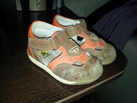 Детская обувь б/у для мальчиков