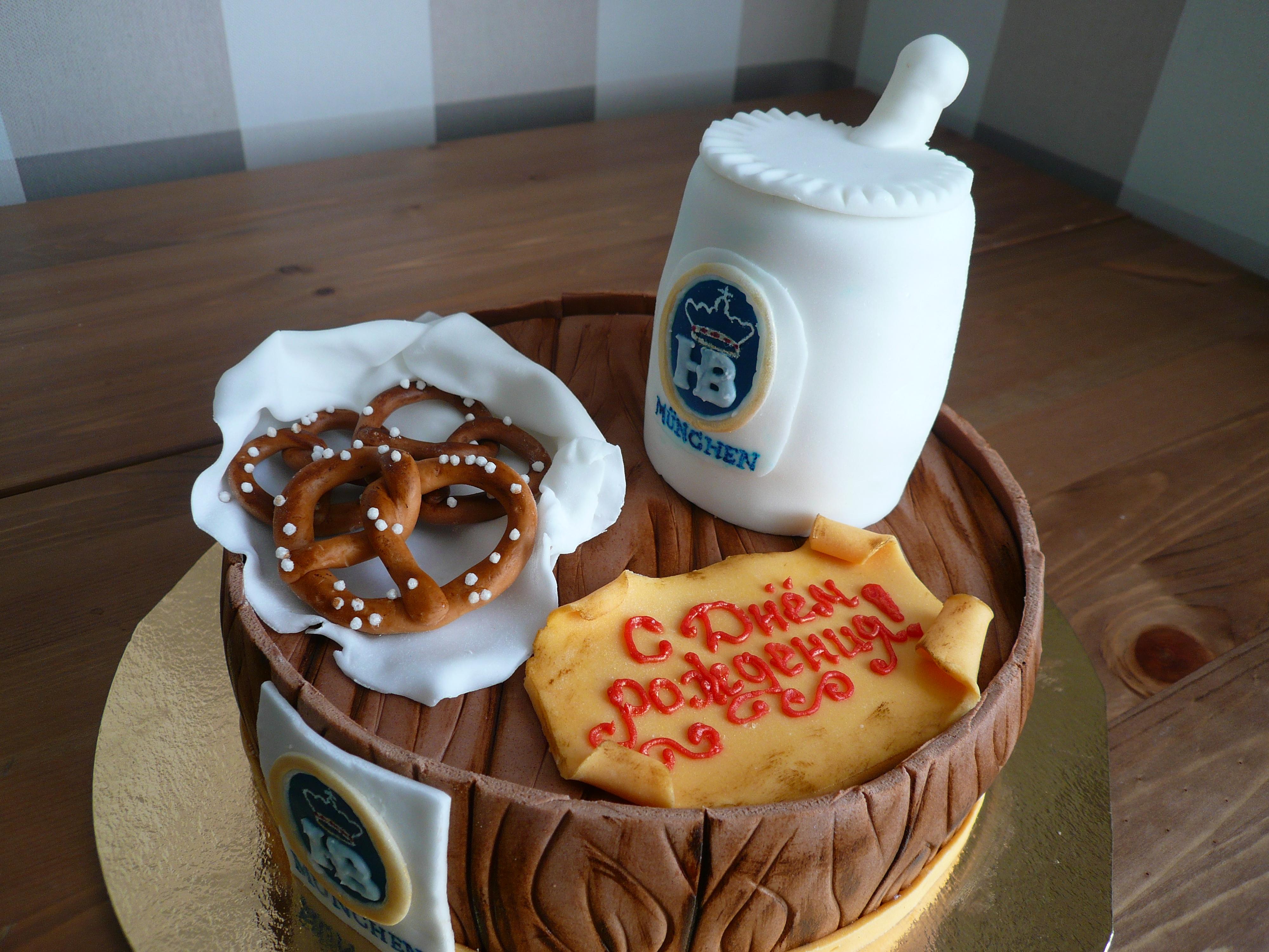 Торт  на  юбилей.