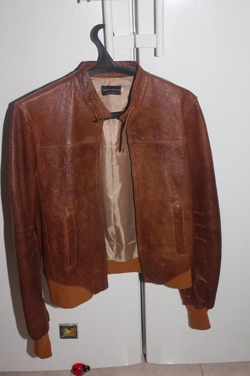 Куртка кожаная, Италия- р 44 в отл. состоянии , 5000 р.