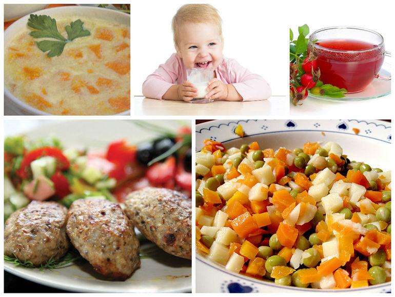 Полезный ужин для детей рецепты