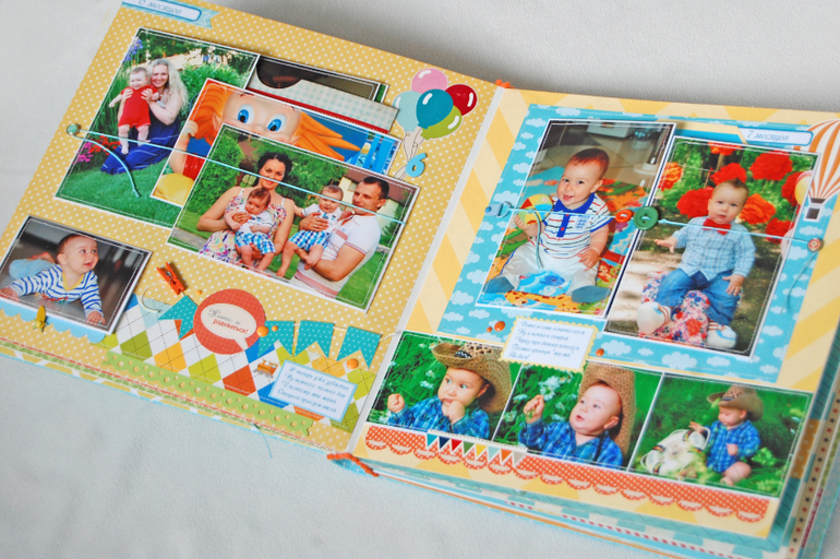 Альбом с детскими рисунками своими руками
