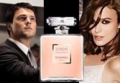 Кира Найтли и Данила Козловский в рекламном ролике Chanel