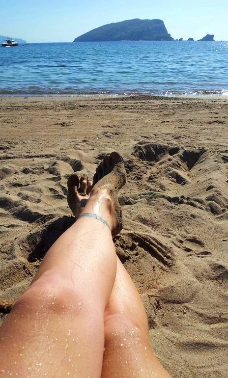 пляжный октябрь ))