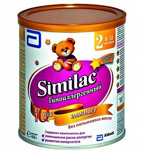 Продам  смесь  SIMILAC  2  (6-12  месяцев)  2  банки    700  рублей.