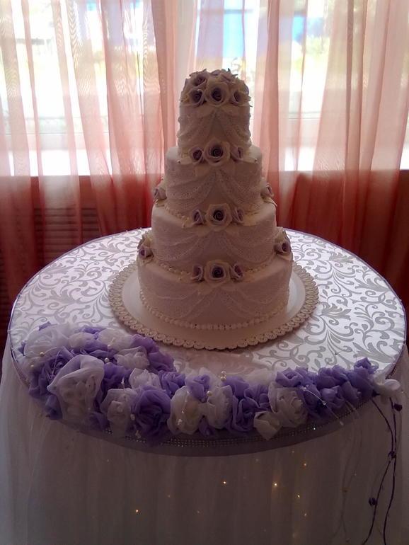 На свадьбу в сиреневых тонах