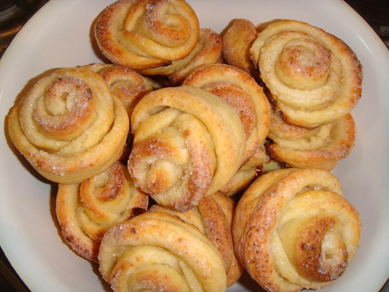 Печенье розочки рецепт пошаговое