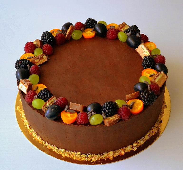 Шоколадный торт своими руками в домашних условиях фото 100