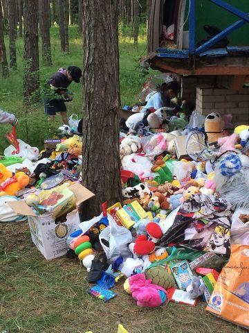 Помощь беженцам Украины.