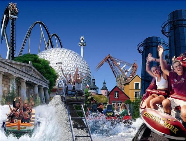Парки Европы + Диснейленд на школьные каникулы