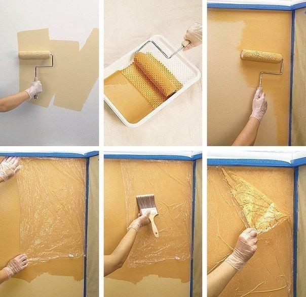 Как покрасить стену своими руками