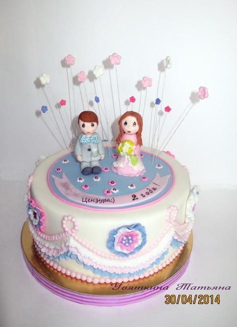 Торт для маленькой принцессы:)