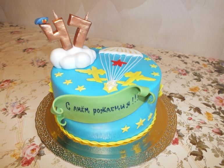 торт на день вдв фото
