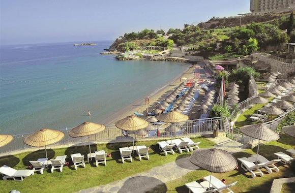 Турция, Эгейское побережье - водные горки, миниклубы и детские развлечения!