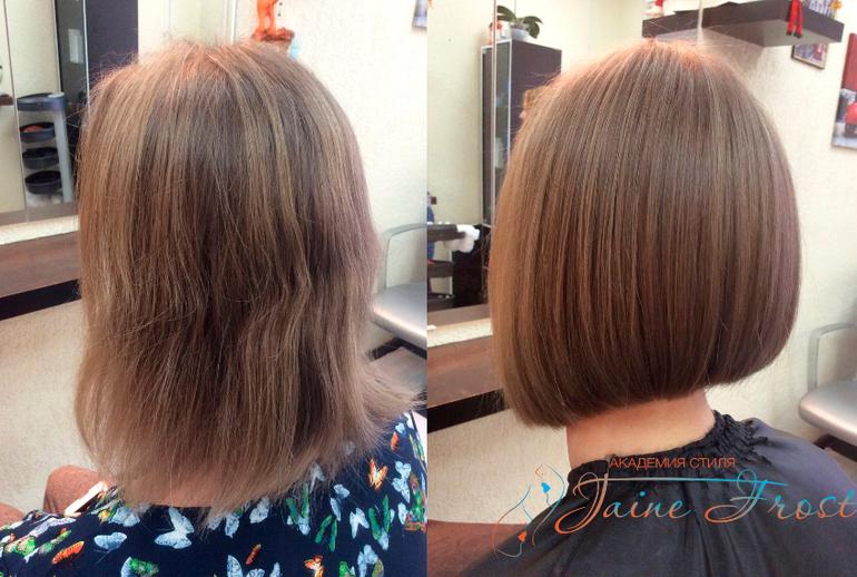 Тонкие редкие волосы прически