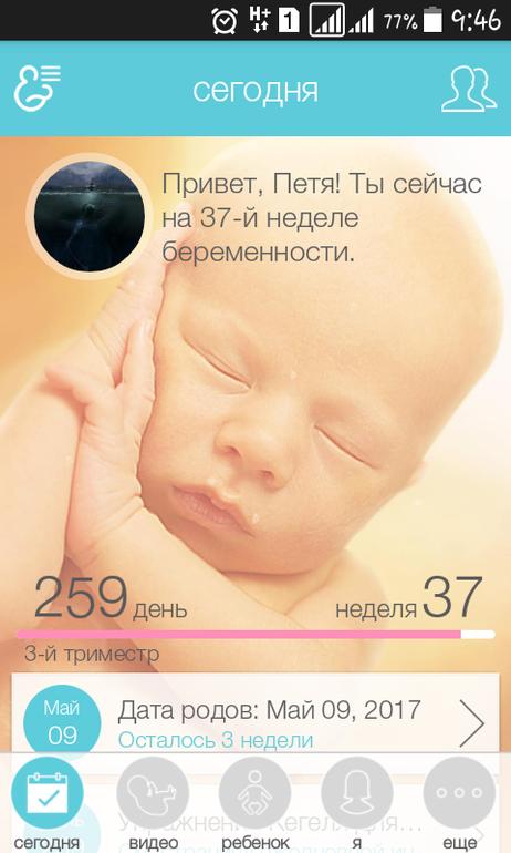 Календарь беременности двойни по неделям