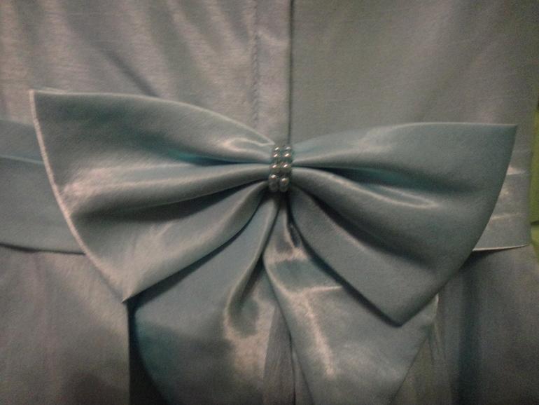 Бант из плотной ткани