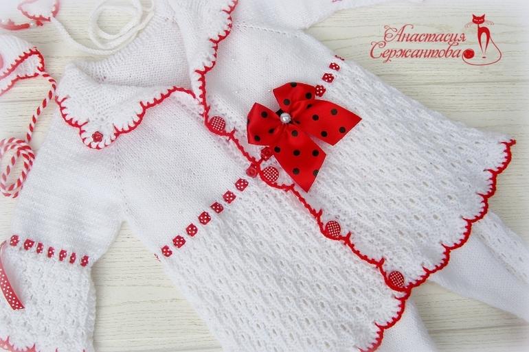 Вязание спицами божья коровка свитер 55