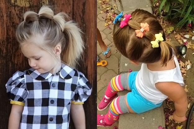 Прически для девочки на каждый день на длинные волосы
