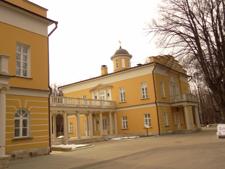 Наш поход во дворец Дурасова в Люблино