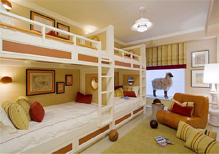 Двухъярусная комната фото