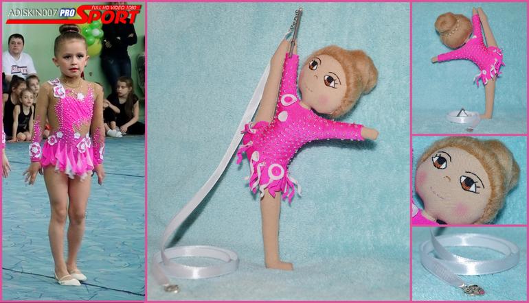 Кукла гимнастка своими руками 69
