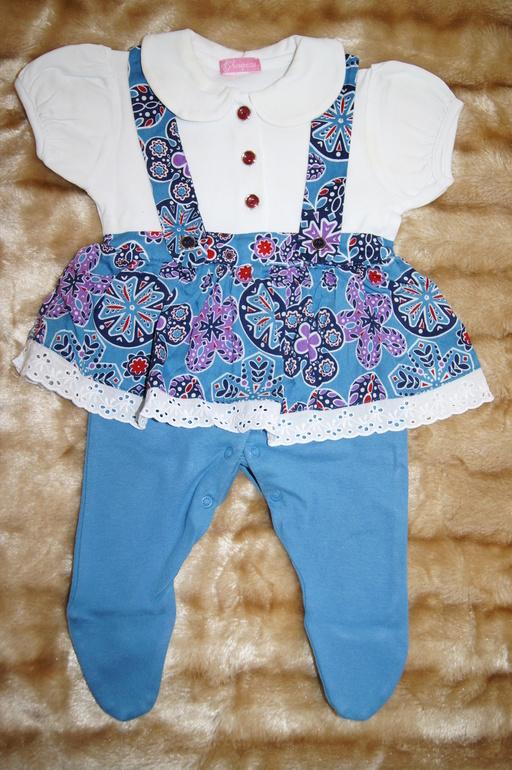 Choupette Платье пышное с вышивками для девочки