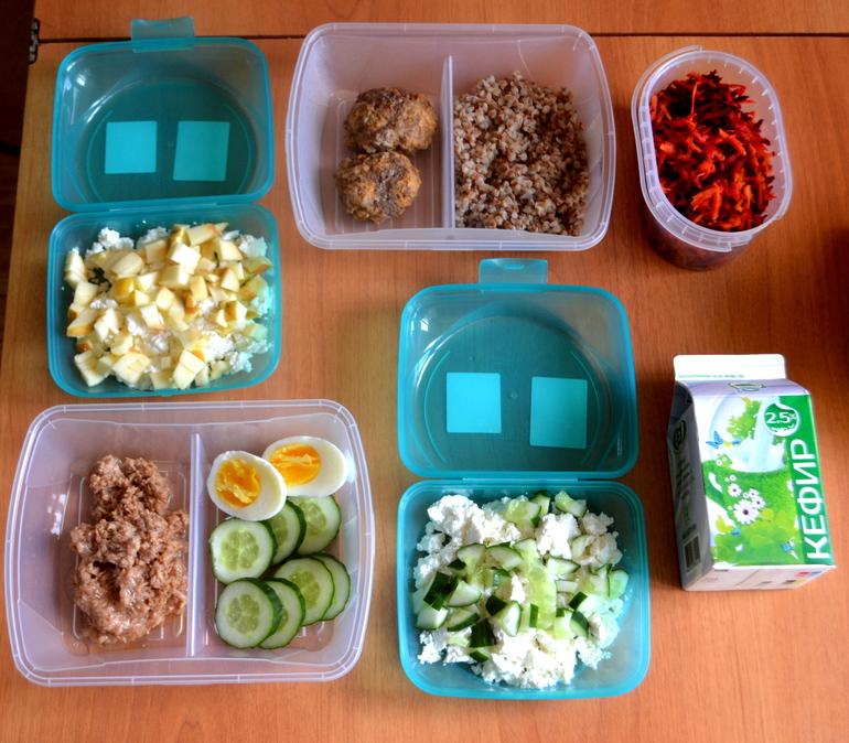 что можно на обед при правильном питании