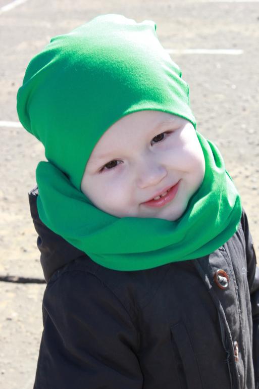 Трикотажные шапочки своими руками для мальчика